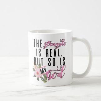 The Struggle Is Real Coffee Mug