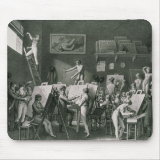 The Studio of Jacques Louis David Mouse Pad