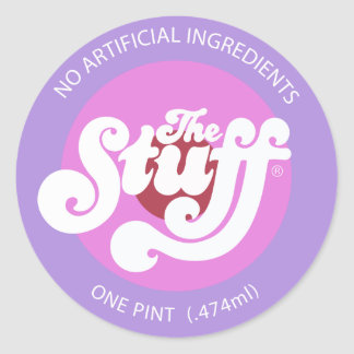 The Stuff Classic Round Sticker