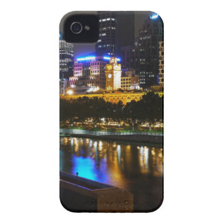 The Stunning Yarra And Melbourne Skyline at Night iPhone 4 Cover