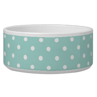 The Stylish Pet-Polka-Dots-Aqua