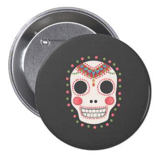 The Sugar Skull 7.5 Cm Round Badge