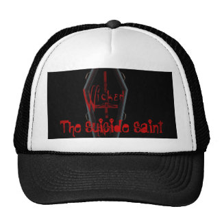 The Suicide Saint/Wicked Ent Logo Hat