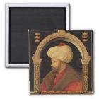 The Sultan Mehmet II  1480 Magnet