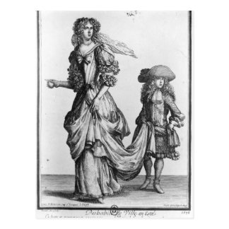The Summer city dress, 1678 Postcard