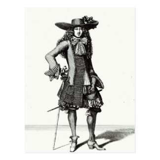 The Summer Sword Dress, 1675 Postcard