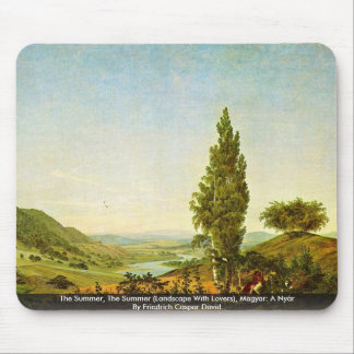 The Summer, The Summer  (Landscape With Lovers) Mousepads
