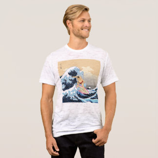 The Sumo Surfing Fitted Burnout T-Shirt