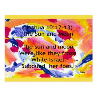 The Sun and Moon Postcard