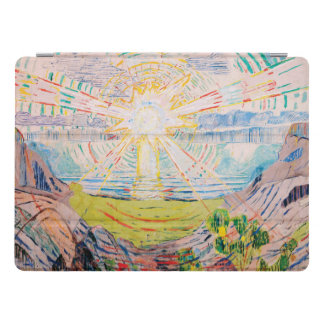 The Sun by Edvard Munch iPad Pro Cover