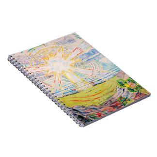 The Sun by Edvard Munch Notebooks