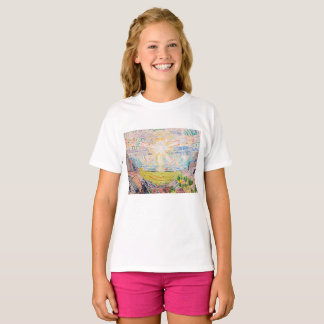 The Sun by Edvard Munch T-Shirt