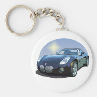 The Sun Car Key Ring