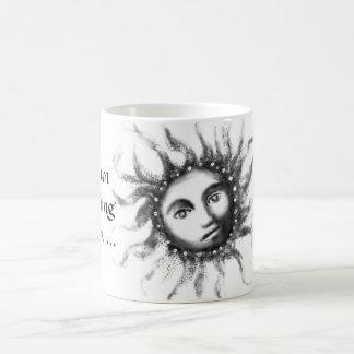 The sun is shining basic white mug