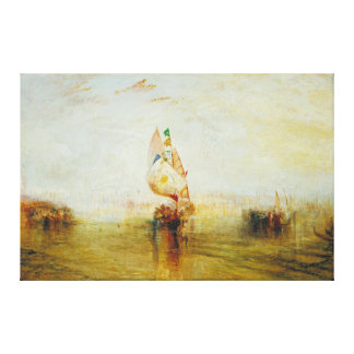 The Sun of Venice Going to Sea by Joseph Turner Gallery Wrap Canvas