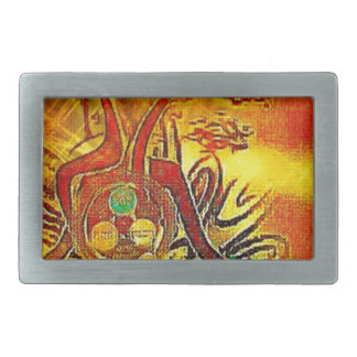 The Sun Rectangular Belt Buckles