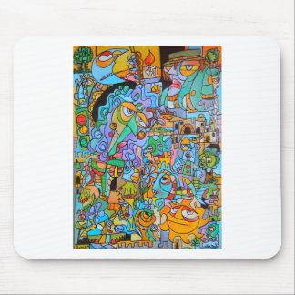 The Sun Ride by Lorenzo Traverso Mouse Pad