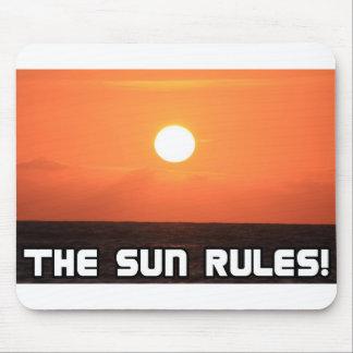 The Sun Rules 2 Mousepad