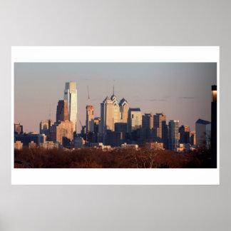 The Sun Sets on Philadelphia Poster