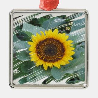 The Sun Will Shine Again Silver-Colored Square Decoration