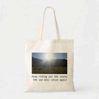 The sun will shine bag