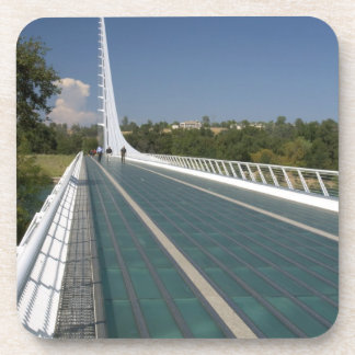 The Sundial Bridge at Turtle Bay Beverage Coasters