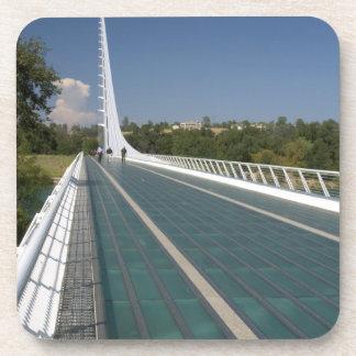 The Sundial Bridge at Turtle Bay Beverage Coasters