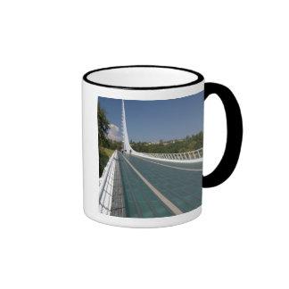 The Sundial Bridge at Turtle Bay Ringer Mug