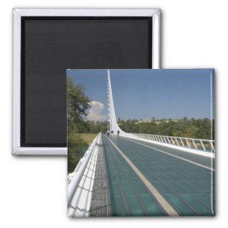 The Sundial Bridge at Turtle Bay Square Magnet