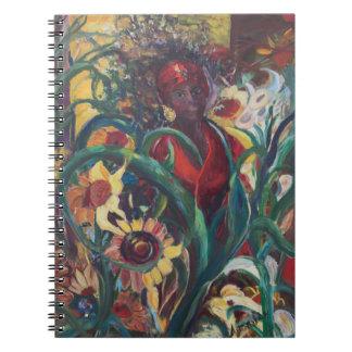 The Sunflower Woman Notebook