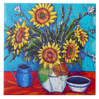The Sunflowers Tile