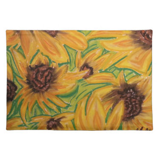 The Sunnies Sunflowers by Michael David Placemat