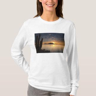 The sunrise over Isla Danzante in the Gulf of T-Shirt