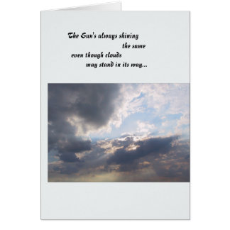 The Sun's always shining Greeting Cards