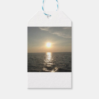 The Sunset at Bantayan Island in the Philippines Gift Tags