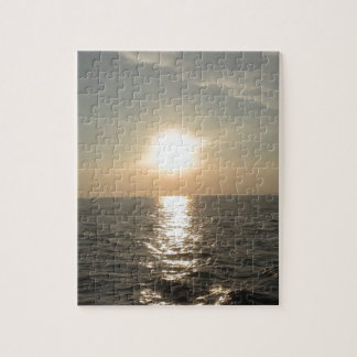The Sunset at Bantayan Island in the Philippines Jigsaw Puzzle