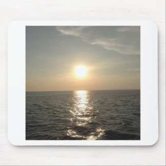 The Sunset at Bantayan Island in the Philippines Mouse Pad
