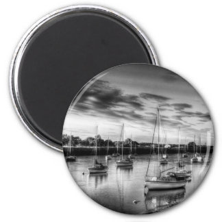 The Sunset River Refrigerator Magnets