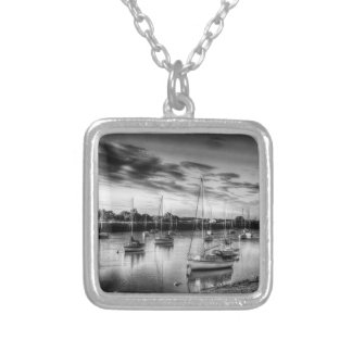 The Sunset River Personalized Necklace