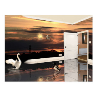 The Sunset Room - Postcard
