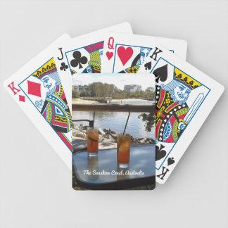 The Sunshine Coast Australia photo Bicycle Playing Cards