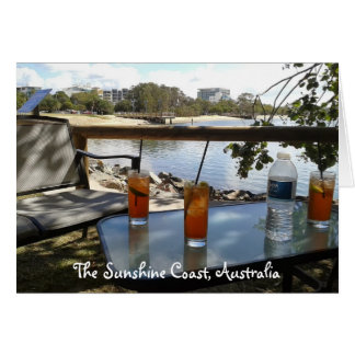 The Sunshine Coast Australia photo Card