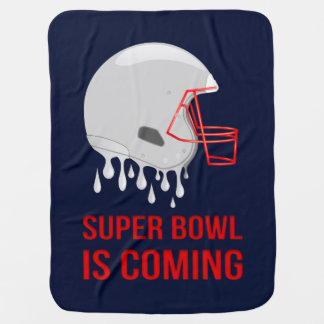 The Super Bowl Countdown Baby Blanket