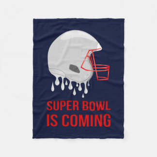 The Super Bowl Countdown Fleece Blanket