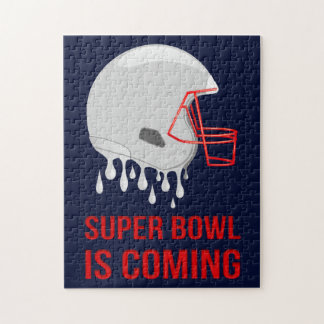 The Super Bowl Countdown Jigsaw Puzzle