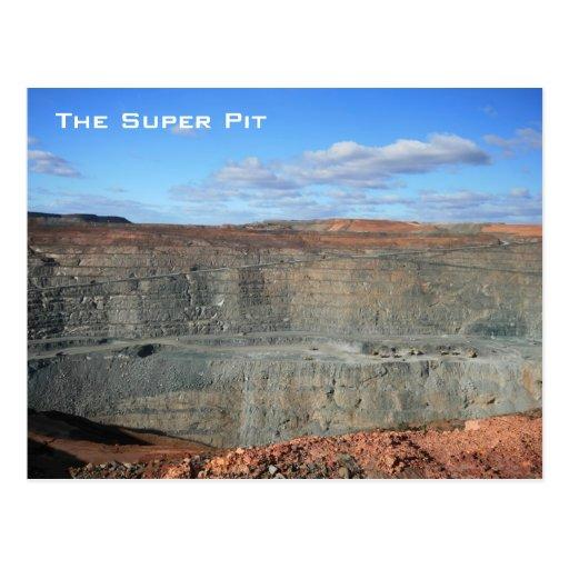 The Super Pit, Kalgoorlie, Australia - Postcard Postcards