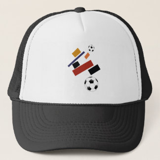 The Super Soccer Ball, After Malevich Trucker Hat