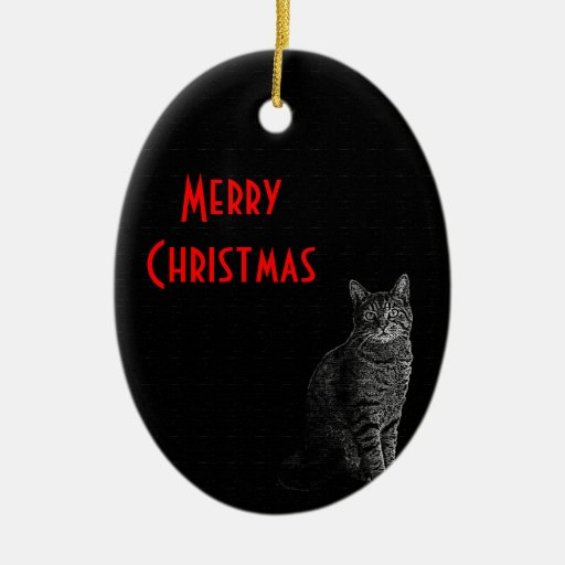 The Superior Cat Christmas Ornament