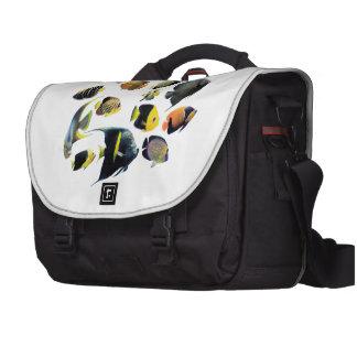 The superior product of Marine angelfish Laptop Messenger Bag