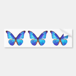 """The superior product """"of Morpho"""" Bumper Sticker"""